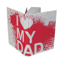 I Love My Dad - Foto su Agenda 15x20cm