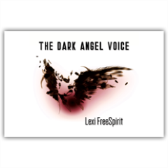 The Dark Angel Voice bigliettino augurale