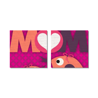 Mamma I Love You - Tela in pannelli