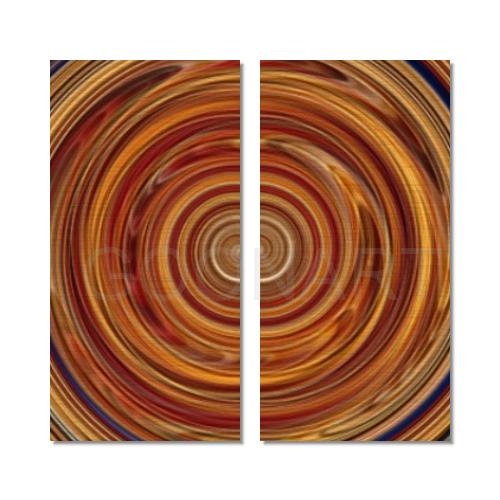 Tela con spirale stampata