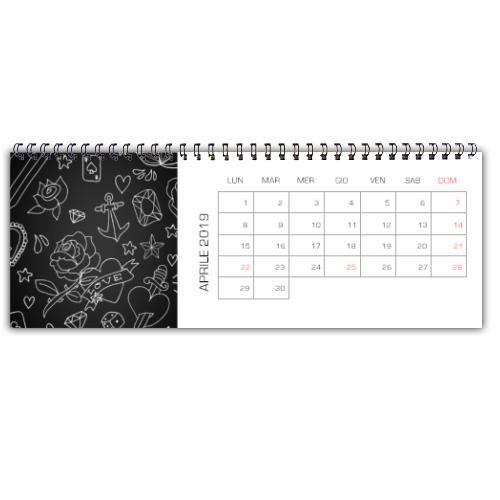 calendario da scrivania Goonart