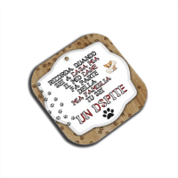 Dog Tablet  Sottobicchieri in Masonite