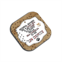 Tablet dog verticale Sottobicchieri in Masonite