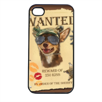 Wanted Rambo Dog Cover iPhone 4 e 4S