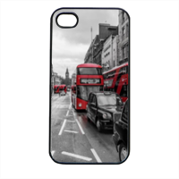 London red and white Cover iPhone 4 e 4S