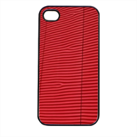 rosso vivo Cover iPhone 4 e 4S