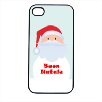 Babbo di neve Cover iPhone 4 e 4S