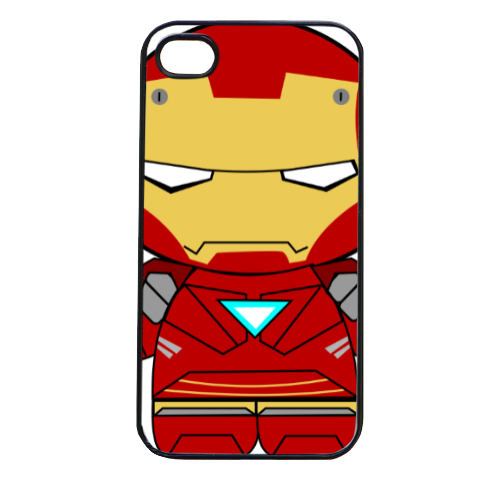 Team Ironman Cover iPhone 4 e 4S