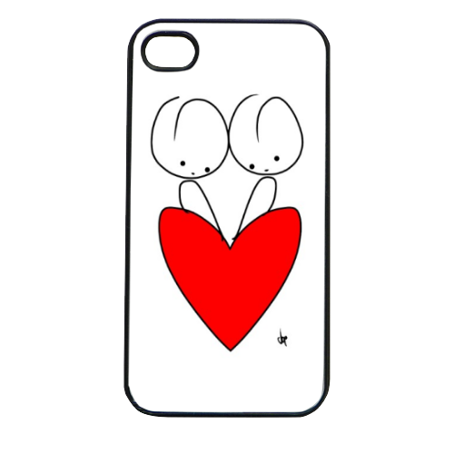 Minou in love Cover iPhone 4 e 4S