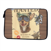 Wanted Rambo Dog Porta iPad-eReader