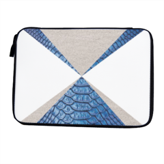 Snake blue and sand Porta iPad-eReader