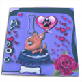 I Love Dog Blu Tappeto giochi