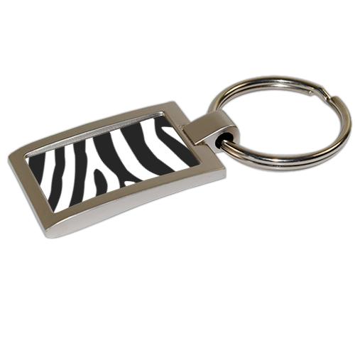portachiavi zebrato