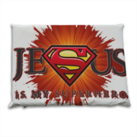 Jesus my superhero Cuscino stadio