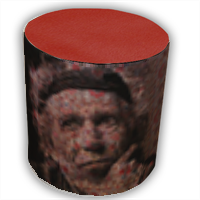 Keith Richards Pouf cilindro