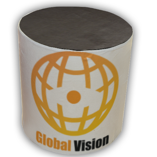 Global vision Pouf cilindro