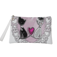 Weddings Cats Pochette personalizzata