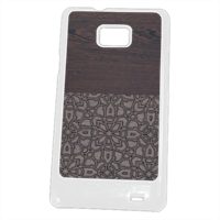 Wenge and Gothic Cover Samsung Galaxy SII
