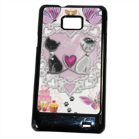 Sweet Love with Dog Cover Samsung Galaxy SII