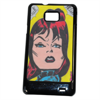 BLACK WIDOW Cover Samsung Galaxy SII