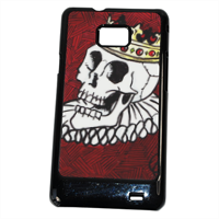 King Skull Cover Samsung Galaxy SII