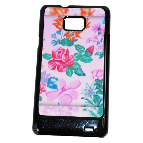 Flowers Cover Samsung Galaxy SII