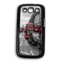 London red and white Cover Samsung Galaxy SIII