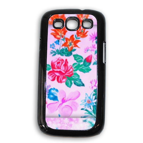 Flowers Cover Samsung Galaxy SIII