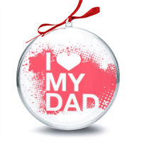 I Love My Dad - Palla di Natale
