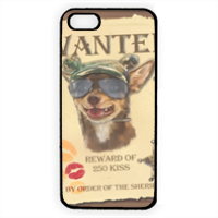 Wanted Rambo Dog Cover iPhone 5