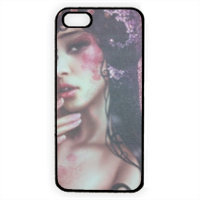 Oriental Woman Cover iPhone 5