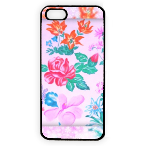 Flowers Cover iPhone 5
