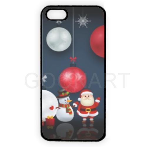 Cover iphone personalizzata con grafica natalizia