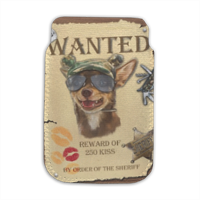 Wanted Rambo Dog Porta smartphone