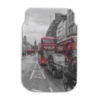 London red and white Porta smartphone