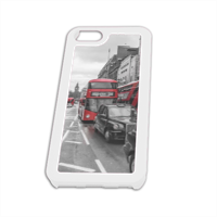 London red and white Cover iPhone5 Fashion