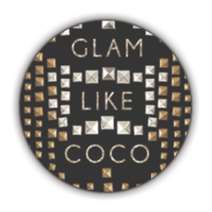 Glam Like Coco Stickers cerchio