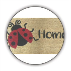 Home Coccinella Stickers cerchio