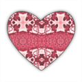 new tribal Stickers cuore