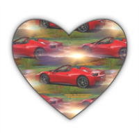 Ferrari458 Spider Dream  Stickers cuore