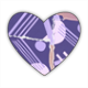 Bauhaus Stickers cuore