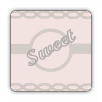 Sweet Stickers quadrato