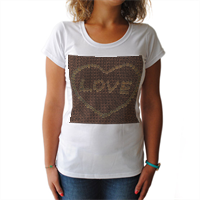 Nocciole innamorate T-shirt donna
