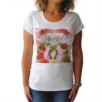 Best Mom T-shirt donna