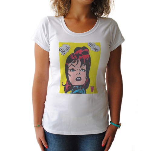 BLACK WIDOW T-shirt donna
