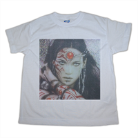 Warrior woman t-shirt-bimbo