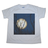 full moon t-shirt-bimbo