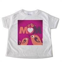 Mamma I Love You - t-shirt-bimbo