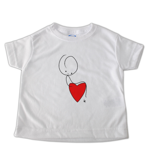 SIT ON THE HEART t-shirt-bimbo