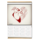 Sharing the same heart Calendario su arazzo A3